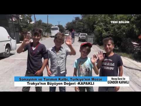 RUMELİ TV ''GÜNDEM KAPAKLI'' PROGRAMI