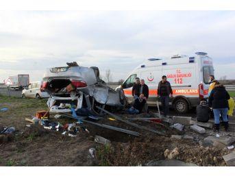 Saray Trafik Kazası