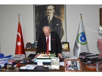 Başkan Albayrak'a Doğum Günü Sürprizi
