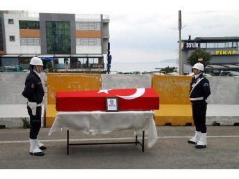 Çevik Kuvvet Şube Müdürü Törenle Son Yolculuğuna Uğurlandı