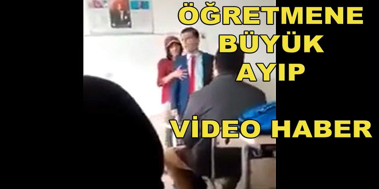 Photo of Çorlu'da Öğretmene yapılan ayıp büyük tepki çekti.