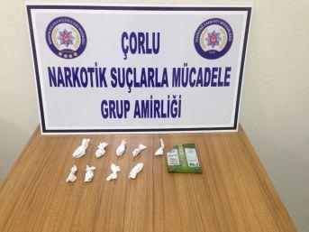 Çorlu'da Satışa Hazır Uyuşturucu Ele Geçirildi