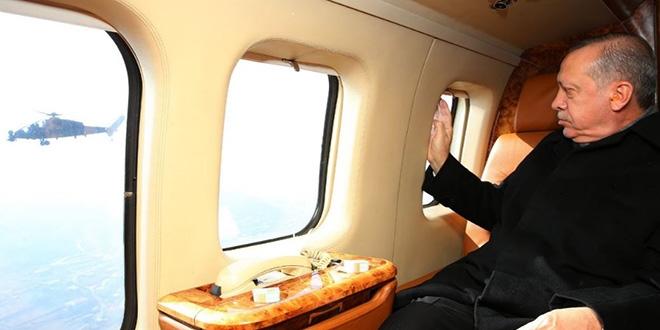 Erdoğan'dan Atak Helikopteri Paylaşımı