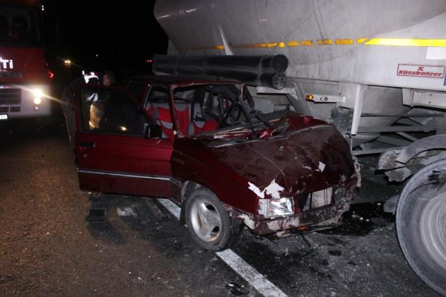 Photo of Saray'da feci kazada 3 kişi yaralandı