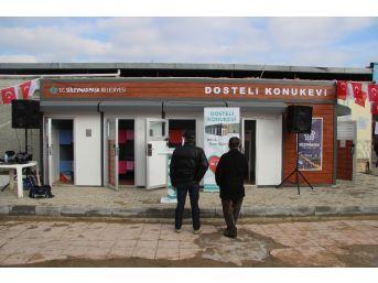 Tekirdağ'da Kimsesiz Vatandaşların Konaklayacakları 'dosteli Konukevi' Açıldı