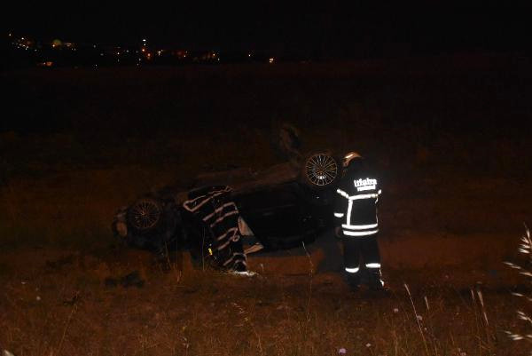 Photo of Çorlu da Otomobil Şarampole Yuvarlandı: 1 Ölü, 1 Yaralı