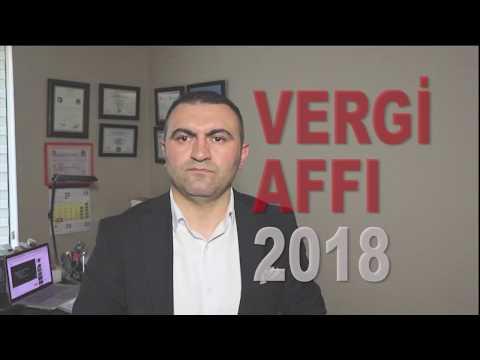 Vergi Affı 2018 Vergi Barışı Nedir.?