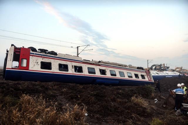 tren kazası
