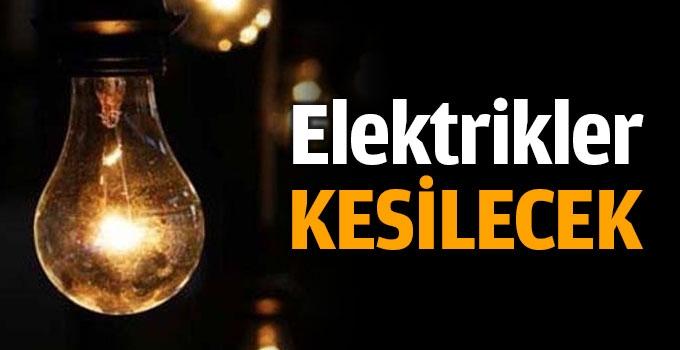Photo of Elektrik Kesintisi yaşanacak. İşte Etkilenecek Yerler