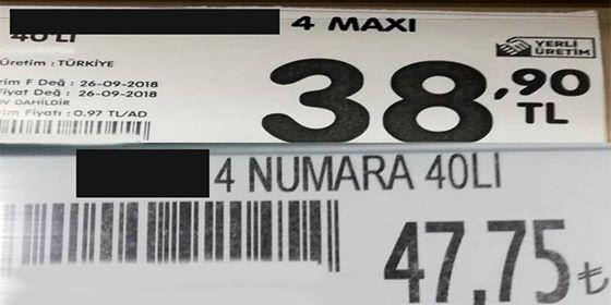 Photo of Vatandaş gene mağdur. Aynı ürün iki farklı fiyat (ÖZEL HABER)