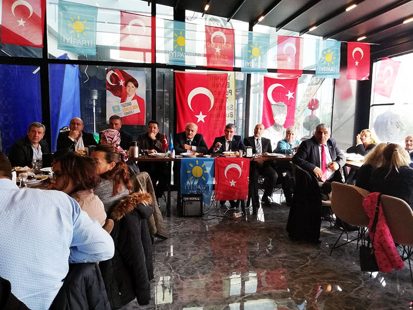 Photo of İyi Parti Kapaklı'da Gövde Gösterisi Yaptı.
