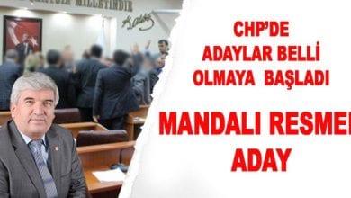 Photo of CHP Adayları Belli Oldu. Mandalı Yeniden Aday