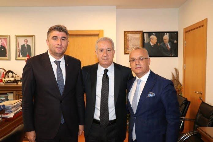 Belediye Başkanı Kayda, MHP Lideri Bahçeli'yi ziyaret etti